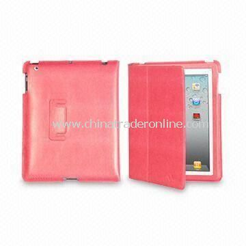 Folio Case for Apples iPad 2, Made of PU, Available in Various Colors