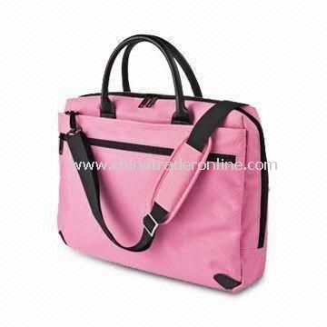 Laptop Bag, Made of Durable Fabric, Customized Designs and Logos are Welcome