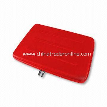 Laptop Bag, Made of EVA, Suits for 10-inch Laptop, Available in Various Colors and Sizes
