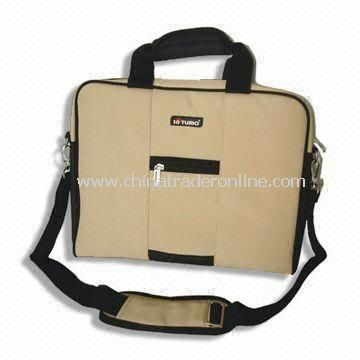 Laptop Bag, Measuring 38 x 5 x 32cm, Made of Twill Nylon