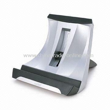 Laptop Stand for Appless iPad, Measures 21 x 22 to 34 x 10 to 20cm