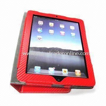 Leather Bag, Made of PU Material, Available in Different Colors, Suitable for iPad