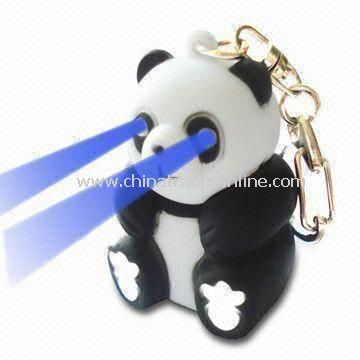 LED Panda Key Light with Sound, Ideal for Mini Gifts and Promotional Items