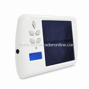 Multi-functional Solar Charger for Apples iPod and iPad with MP3 Player and FM Transmitter