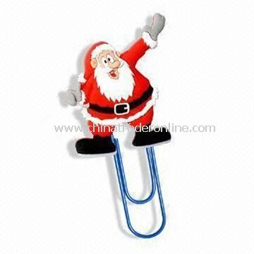 Paper Clip, Made of Soft PVC, Book Mark with Novel, Cute Design, Suitable for Promotional Gifts