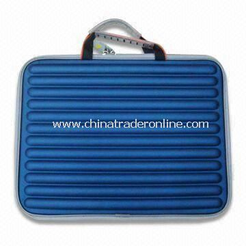 PU Leather Ladies Laptop Bag in Blue, Available in Various Colors, Customized Designs are Accepted