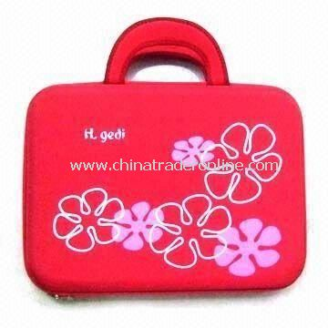 Red Laptop Bag, Made of EVA, Customized Designs are Accepted, Available in Various Colors