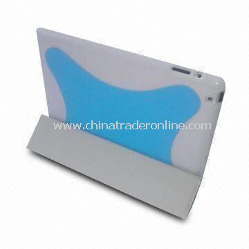 Smart Cover, Folio Leather Cases for Apples iPad 2G, Available in Various Colors