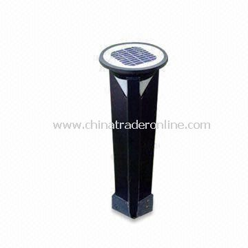 Solar Lawn Light, Available in 6V/4Ah Lead-acid and 3.6V/200mAh Nickel Hydrogen Battery