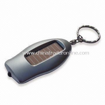Solar LED Keychain, Ideal for Promotions