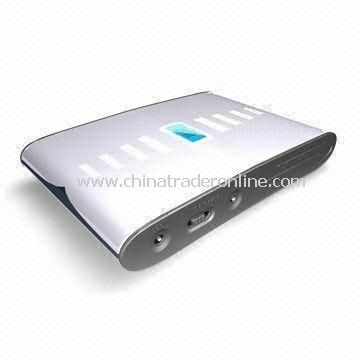 Solar Power Bank, Ideal for Apples iPhone and iPad with 3.7V, 13,200mAh Built-in Li-ion Battery