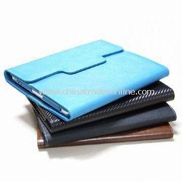 Tablet PC Cases, MID Portfolio, Made of PU Material for Apples iPad