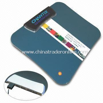 USB1.1/2.0 Hubs LED Indicator Light Mouse Pad, Ideal for Gifts or Promotions
