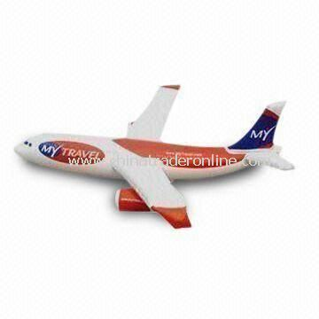 110cm Plane-shaped PVC Inflatable Toy, Customized Colors are Accepted, Ideal as Gift