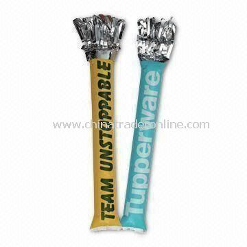 60 x 10cm Inflatable Cheering Stick, Used for Cheering Sports Events and Promotional Gift