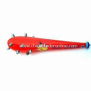 Advertising Inflatable Stick, Made of PVC, Customized Colors Accepted, Ideal for Promotional Gifts from China