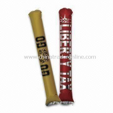 Inflatable Cheering Stick, Ideal as Promotional Gift and Cheering Sports Events
