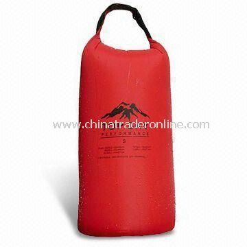 Promotional Waterproof Bag, Suitable for Advertising and Gifts with Pouch and 8L Capacity from China