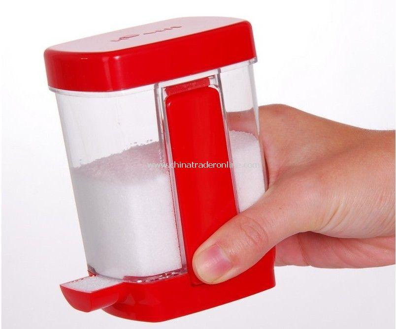 Salt and Pepper set, Salt and Pepper Shaker, Plastic, Three-piece set, Wholesale