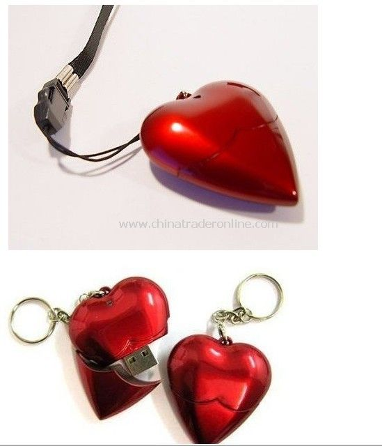 4GB Heart Shape USB Flash Drive