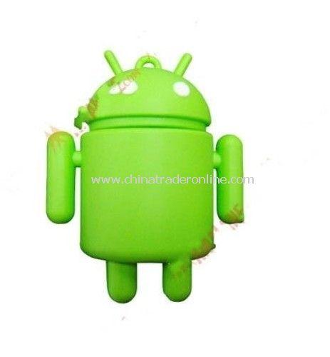 Hot Wholesale Guaranteed full capacity Android Robot USB Flash Drive