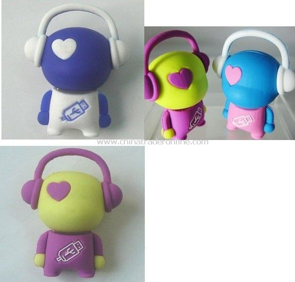 music boy2GB USB flash drive , colorful stable quality , special offer