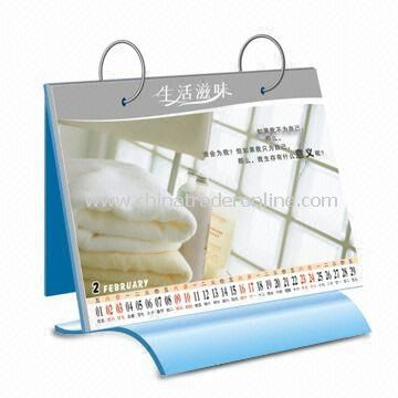 Desktop Calendar, Available in Various Designs