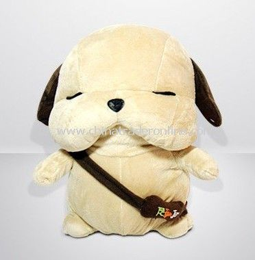 New peculiar originality gift to send girl birthday gift plush toy dog special joke stray dogs from China