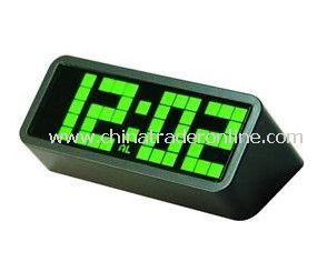 Stylish Creative Calendar LED Alarm Clock