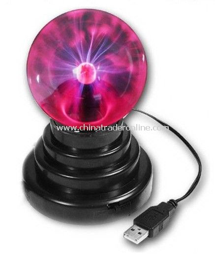 Cool Computer Gadgets,USB Plasma Ball - 3.5 Inch Electric Globe