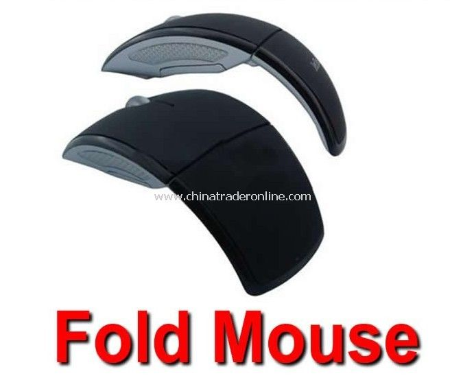 MINI Folding Mouse Wireless 2.4GHz USB Arc Folding Mouse mini mouse for PC & Laptop from China