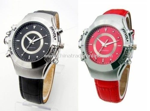 mp3 player WRIST WATCH AD288 shock and water proof quartz watch gift watch