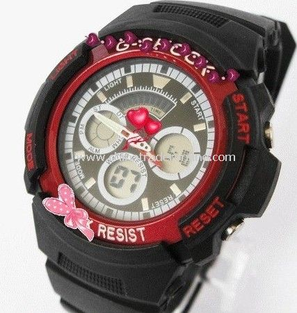 racing watch/Shock/electronic/Sport watch