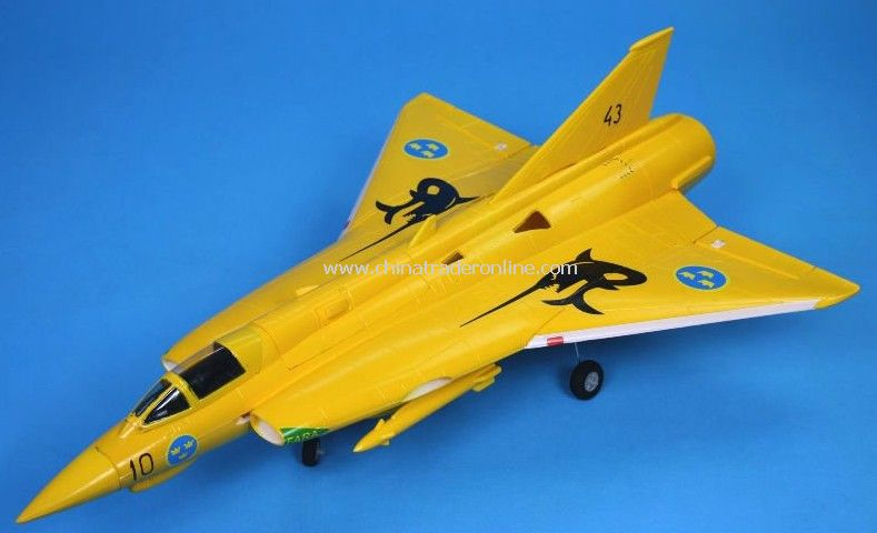 SAAB J35 Draken edf jet/rc airplane /rc toy