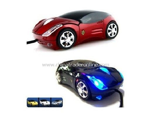Sports Car Optical Mouse car mouse gift mouse usb2.0