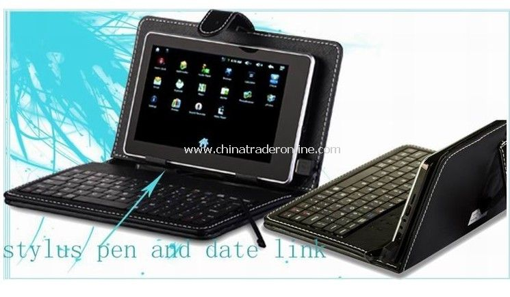 7inch tablet pc Keyboard,Flip Stand Case Cover USB Keyboard
