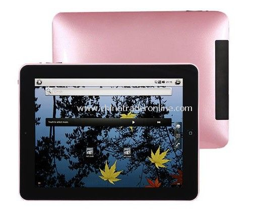 9.7 inch Tablet with Capacitive Multi-Touch Screen and Android Tablet 2.2 OS