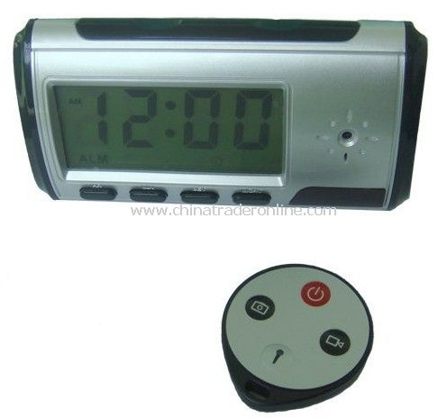 Clock Security Equipment , Motion Detection,Remote Control,A & V Recording Synchronously,Webcam,Record Under Low Illumination