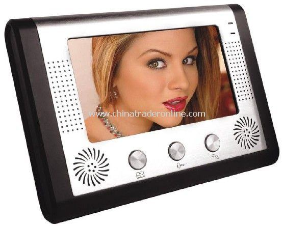 7TFT LCD Display Color Video Door Phone Villa Security Equipment Seeing Who Is Calling Before Unlock