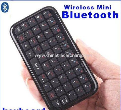 Mini Wireless Bluetooth Keyboard for Ipad, PS3 ,Smartphones