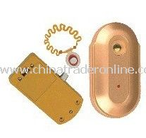 simple  security alloy sauna  cabinet  lock