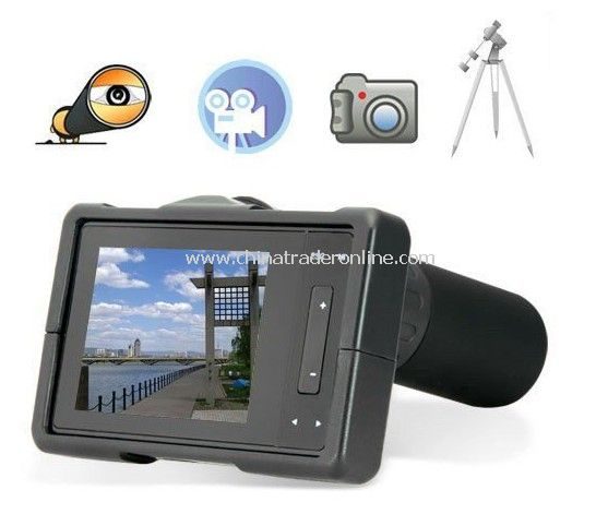 wholesale Outdoors Gears, Outdoor Electronics,40x Zoom Monocular Telescopic Digital Camera