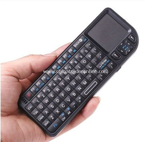Wireless Keyboard 2.4Ghz Rii Mini Keyboard with touch Pad and Laser