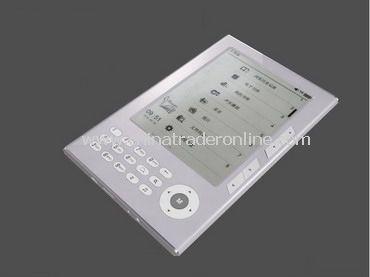 7 inch TFT E-Book Reader (Keyboard Operation)