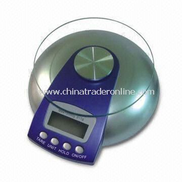Electronic Kitchen Scale with 3V Cr2032 Battery Power and Automatic Power Off