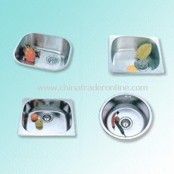 Stainless Steel Kitchen Sink with Different Depths