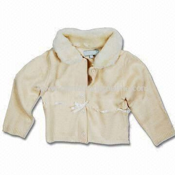 Babies Jacket, Made of 100% Cotton Material, Customized Designs Accepted