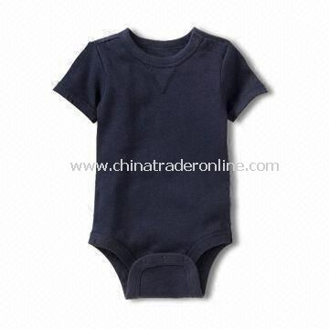 Babies Romper, Made of 100% Cotton Material, Customized Colors Accepted