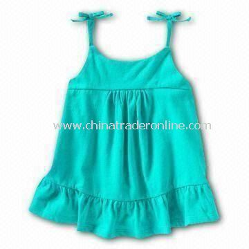 Babies T-shirt/Tees/Top, Made of 100% Cotton Material with Gallus Design from China