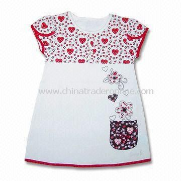 Baby Dress, Machine Washable, Weighs 200gsm